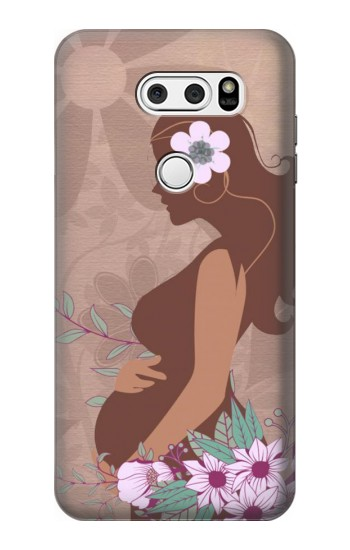 Printed Pregnant Mommy Baby LG L90 D405 Case