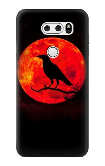 Printed Crow Red Moon LG L90 D405 Case