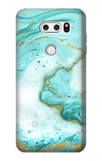 Printed Green Marble Graphic Print LG L90 D405 Case