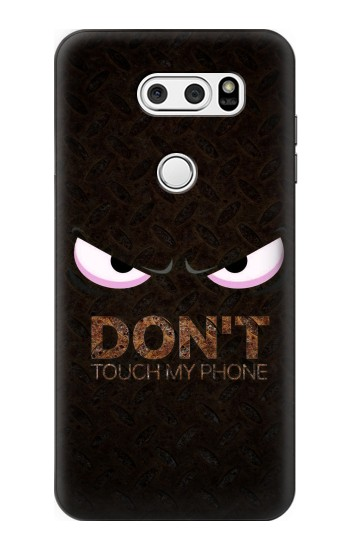 Printed Do Not Touch My Phone LG L90 D405 Case