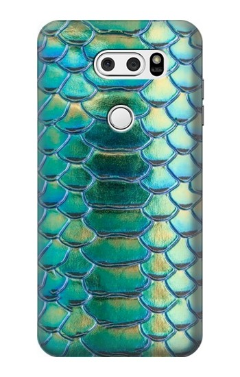 Printed Green Snake Scale Graphic Print LG L90 D405 Case
