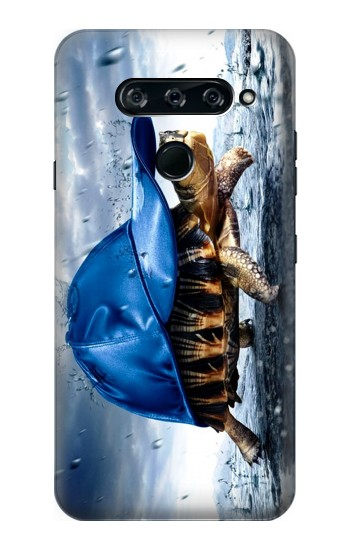 Printed Turtle in the Rain LG V40 ThinQ Case