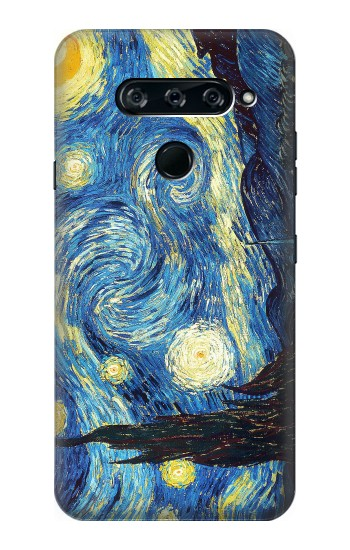 Printed Van Gogh Starry Nights LG V40 ThinQ Case
