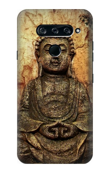 Printed Buddha Rock Carving LG V40 ThinQ Case