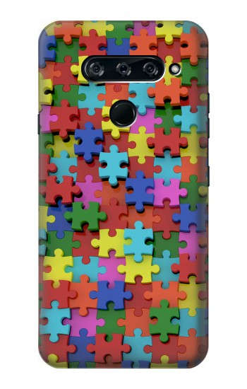 Printed Puzzle LG V40 ThinQ Case