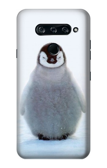 Printed Penguin Ice LG V40 ThinQ Case