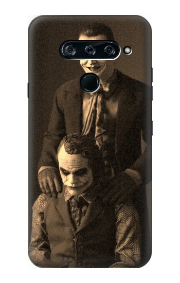 Printed Jokers Together LG V40 ThinQ Case