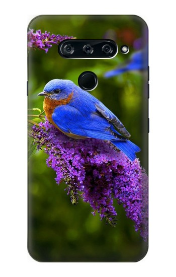 Printed Bluebird of Happiness Blue Bird LG V40 ThinQ Case