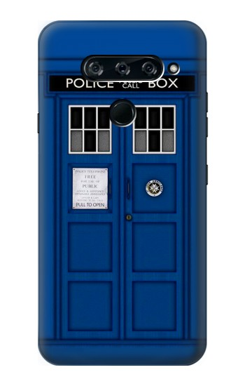 Printed Doctor Who Tardis LG V40 ThinQ Case