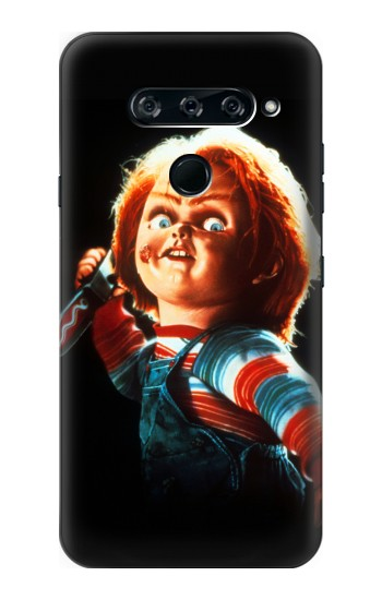 Printed Chucky With Knife LG V40 ThinQ Case