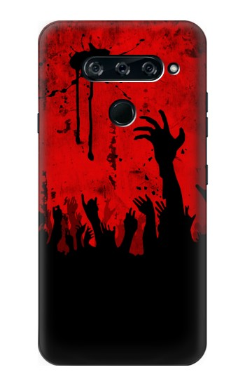 Printed Zombie Hands LG V40 ThinQ Case