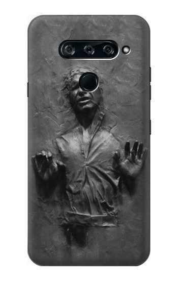 Printed Han Solo Frozen in Carbonite LG V40 ThinQ Case