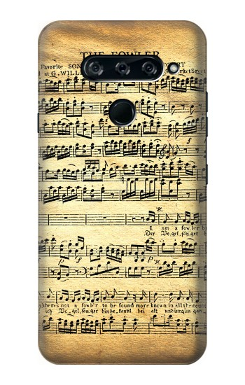 Printed The Fowler Mozart Music Sheet LG V40 ThinQ Case