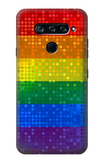 Printed Rainbow Gay LGBT Pride Flag LG V40 ThinQ Case