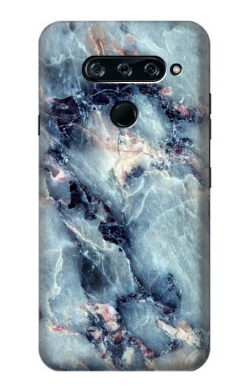 Printed Blue Marble Texture LG V40 ThinQ Case