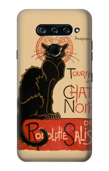 Printed Chat Noir The Black Cat LG V40 ThinQ Case