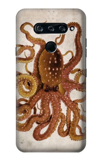 Printed Vintage Octopus LG V40 ThinQ Case