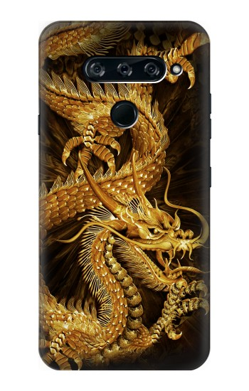 Printed Chinese Gold Dragon Printed LG V40 ThinQ Case