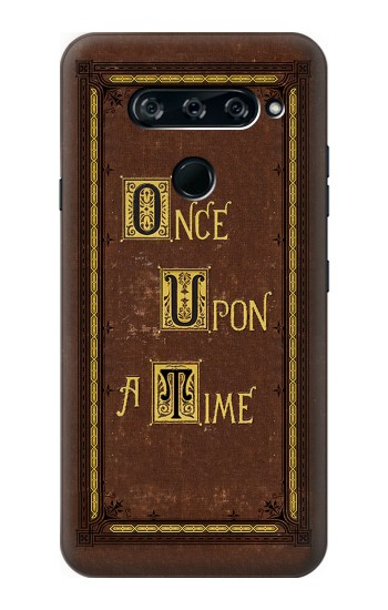 Printed Once Upon a Time Book Cover LG V40 ThinQ Case