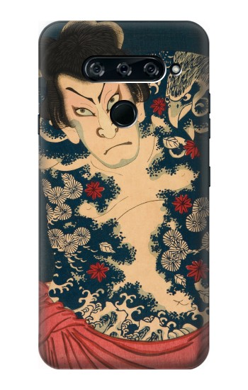 Printed Toyohara Kunichika The Aabuki Actor LG V40 ThinQ Case