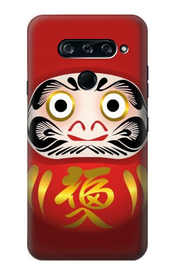 Printed Japan Daruma Doll LG V40 ThinQ Case