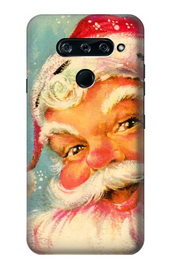 Printed Christmas Vintage Santa LG V40 ThinQ Case