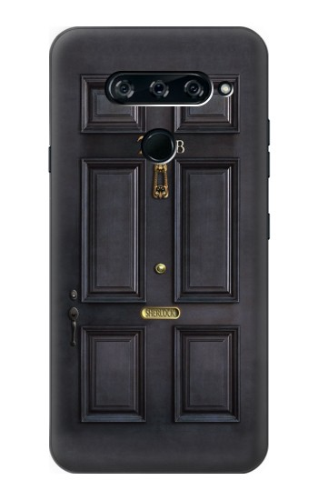 Printed Sherlock Holmes Black Door 221B LG V40 ThinQ Case