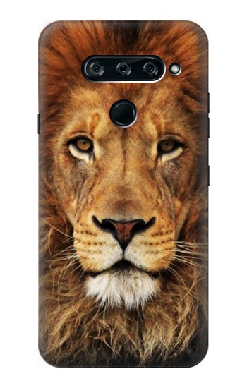Printed Lion King of Beasts LG V40 ThinQ Case
