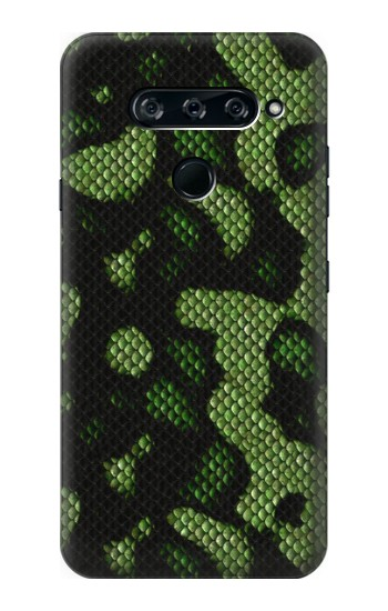 Printed Green Snake Skin Graphic Printed LG V40 ThinQ Case