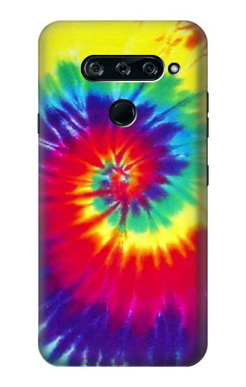 Printed Tie Dye Fabric Color LG V40 ThinQ Case