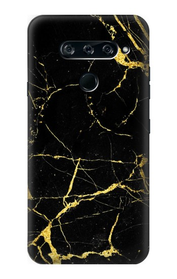 Printed Gold Marble Graphic Printed LG V40 ThinQ Case