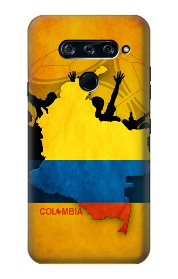 Printed Colombia Football Flag LG V40 ThinQ Case