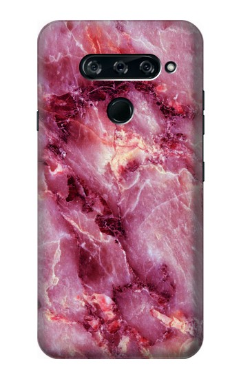 Printed Pink Marble Texture LG V40 ThinQ Case