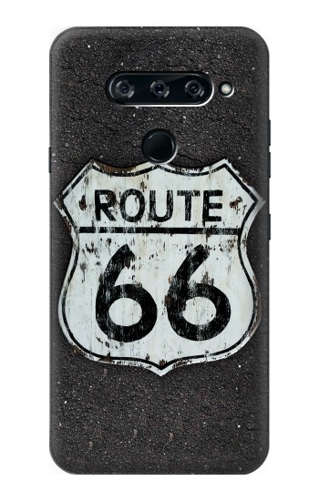 Printed Route 66 Sign LG V40 ThinQ Case