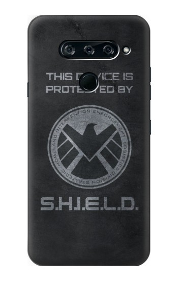 Printed This Device is Protected by Shield LG V40 ThinQ Case