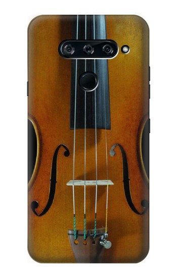 Printed Violin LG V40 ThinQ Case