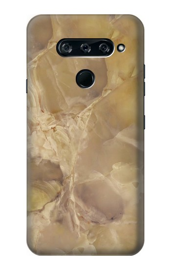 Printed Yellow Marble Stone LG V40 ThinQ Case
