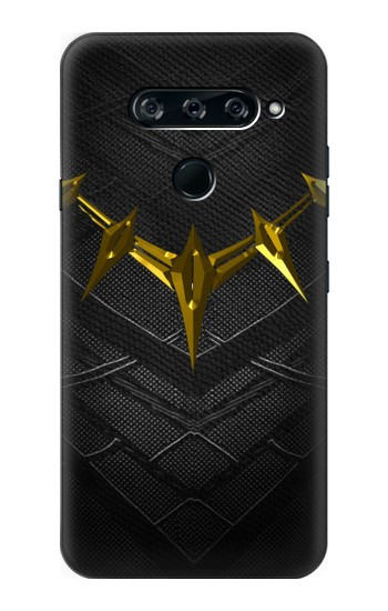 Printed Black Panther Inspired Costume Gold Necklace LG V40 ThinQ Case