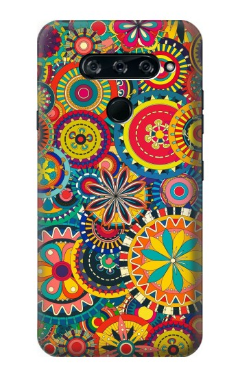 Printed Colorful Pattern LG V40 ThinQ Case