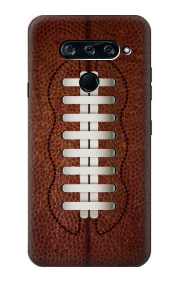 Printed Leather Vintage Football LG V40 ThinQ Case