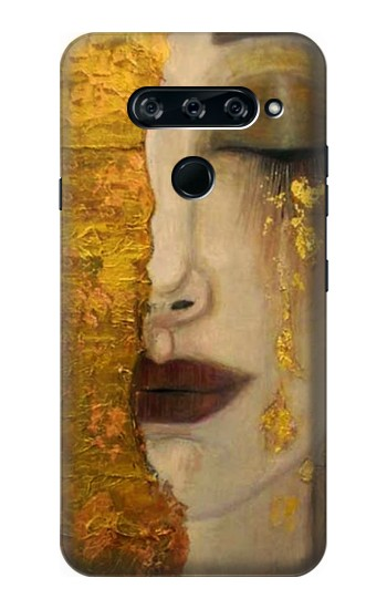 Printed Gustav Klimt Golden Tears LG V40 ThinQ Case