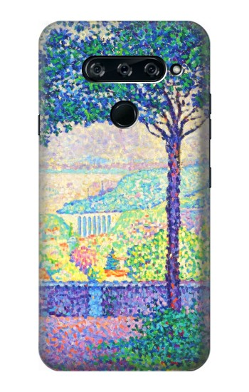 Printed Paul Signac Terrace of Meudon LG V40 ThinQ Case