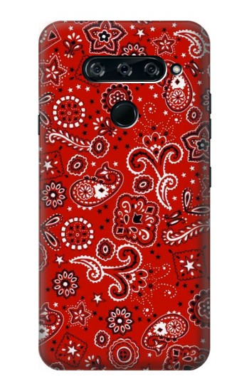 Printed Red Bandana LG V40 ThinQ Case