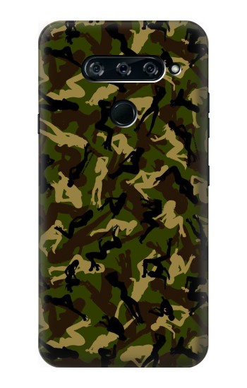 Printed Sexy Girls Camo LG V40 ThinQ Case
