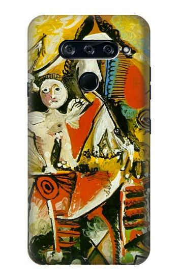 Printed Picasso Painting Cubism LG V40 ThinQ Case