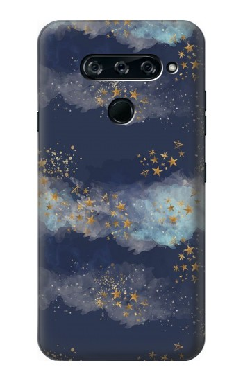 Printed Gold Star Sky LG V40 ThinQ Case
