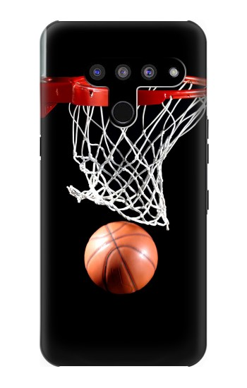 Printed Basketball LG V50, LG V50 ThinQ 5G Case