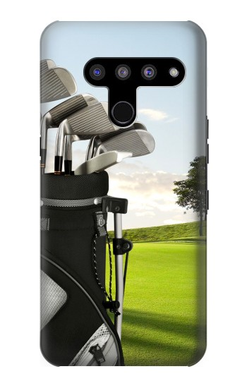 Printed Golf LG V50, LG V50 ThinQ 5G Case