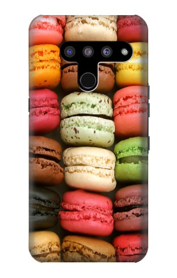 Printed Macarons LG V50, LG V50 ThinQ 5G Case