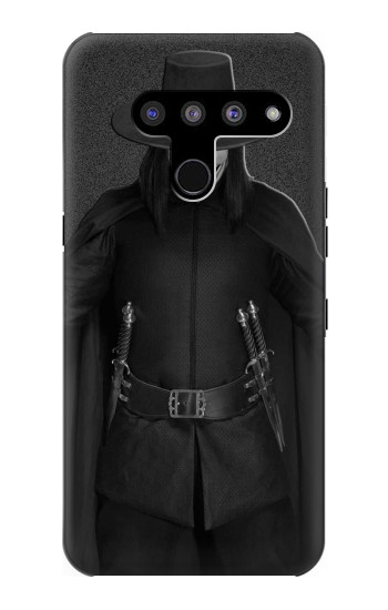 Printed V Mask Guy Fawkes Anonymous LG V50, LG V50 ThinQ 5G Case